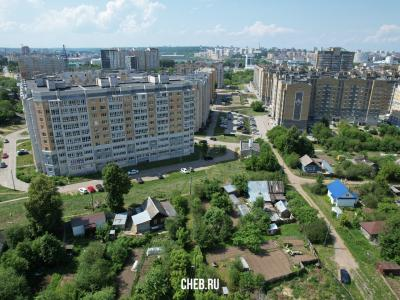 Частный сектор. Вид на ул. Николая Рождественского 9