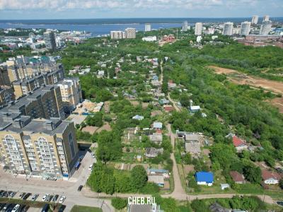 Вид сверху на улицу Белинского