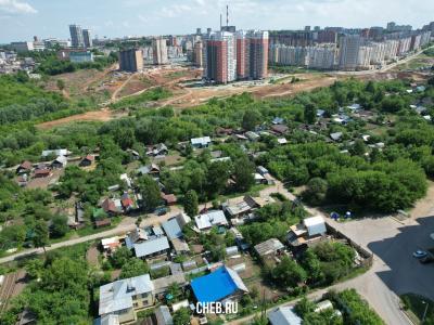 Вид на частный сектор, улица Колхозная
