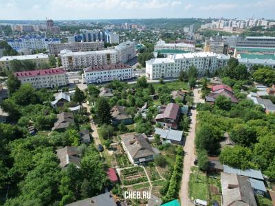 Вид сверху на улицу Харьковская