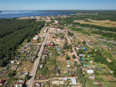 Вид на посёлок Сосновка