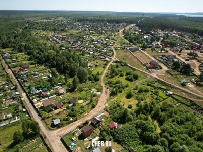 Дорога между улицами Лежневая и Солнечная