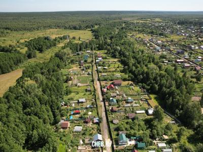 Вид сверху на ул. Лежнёвая