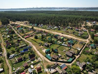 Вид сверху на ул. Новоселов