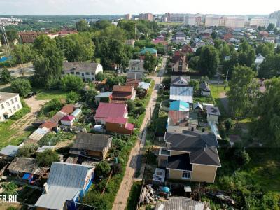 Вид сверху на ул. Серафимовича
