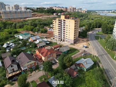 Вид на дома по улице Куйбышева