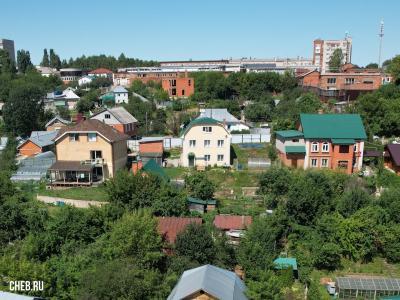 Вид на дома по улице Достоевского