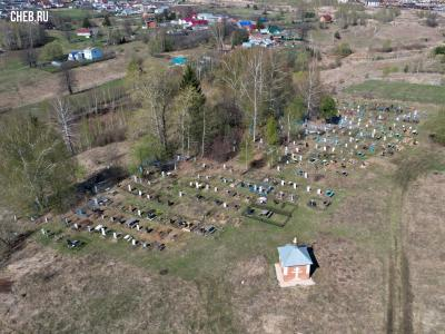 Кладбище деревни Чандрово