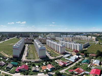 Сферическая панорама: Частный сектор у Садового района - улицы Котовского и Нахимова