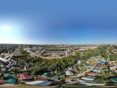 Сферическая панорама: Деревня Пятино