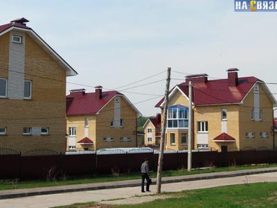 Коттеджный поселок у Ельниковского оврага