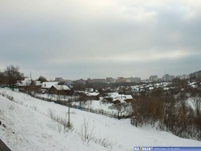 Вид с ул. Казанская