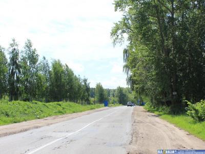 Алатырское шоссе между кладбищами