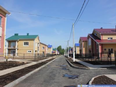 """Коттеджный поселок """"Белая усадьба"""""""