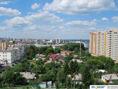 Вид на улицу Харьковская