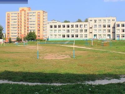 Футбольное поле 55 школы