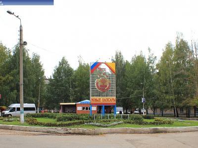 Кольцо в поселке Новые Лапсары