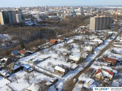 Вид на улицу 1-я Чапаева