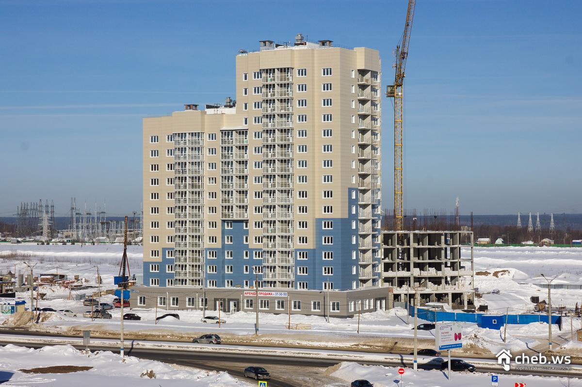 Встроено-пристроенными объектами обслуживания мкр 3а западного жилого района г новочебоксарск 1 этап