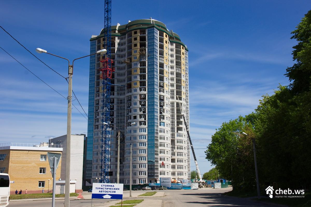 Výstavba 23-poschodovej budovy