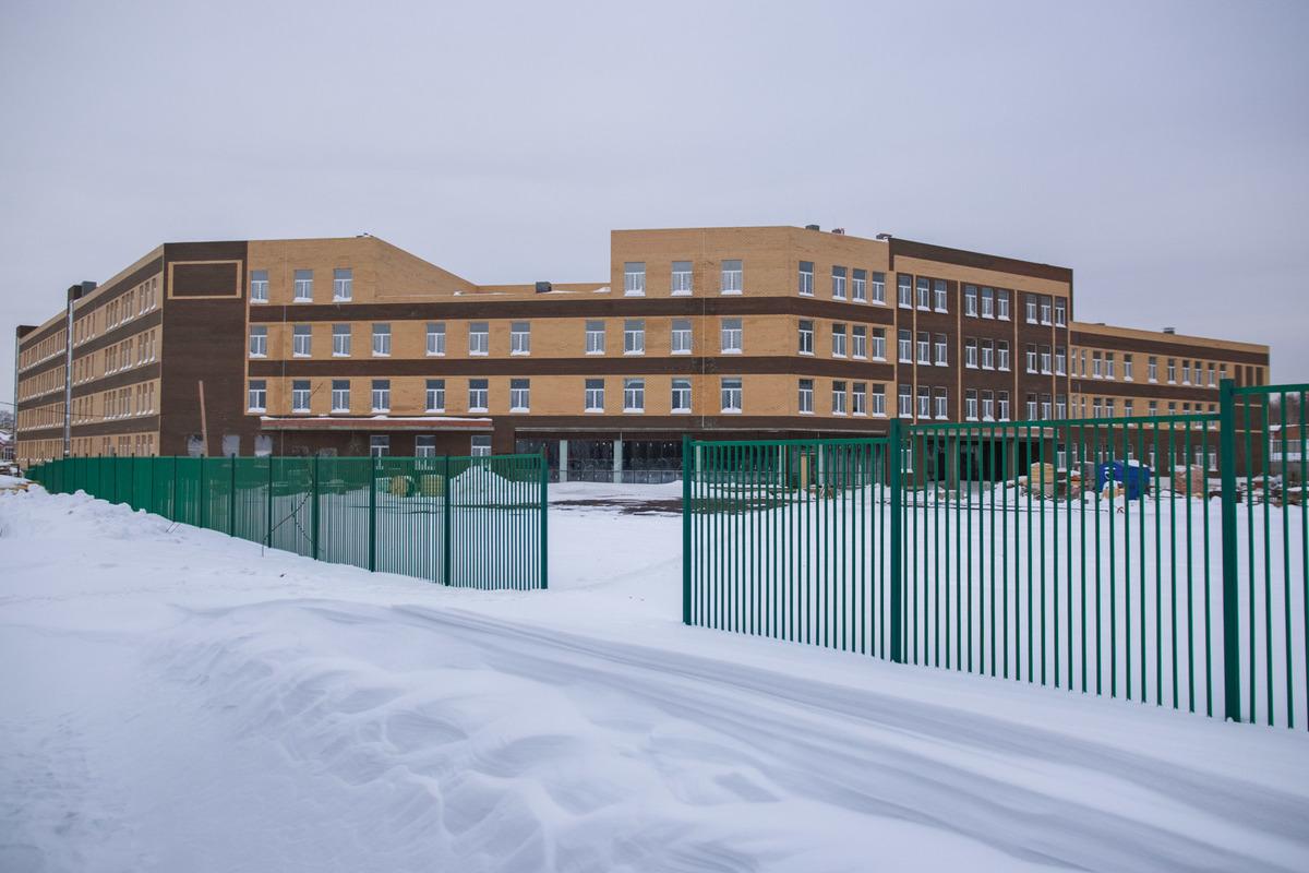 Строительство школы (Волжский-3)