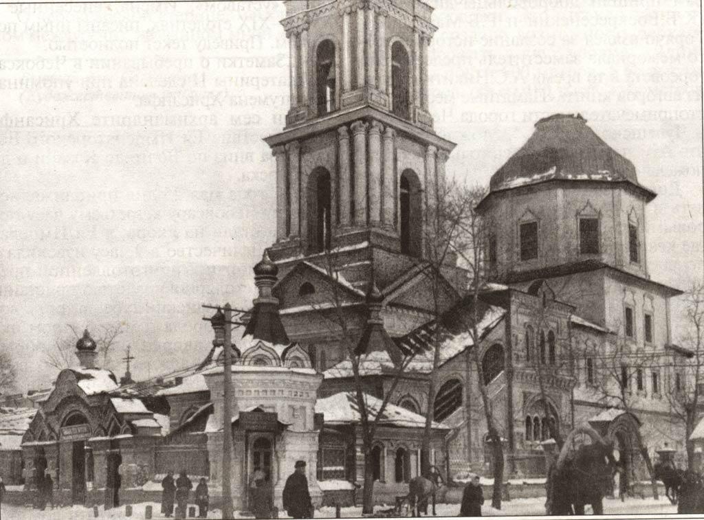 На месте разрушенного в 1966 году всехсвятского храма будет воздвигнут новый одноименный храм