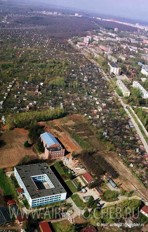 Вид сверху на улицу Пирогова, 2005 год