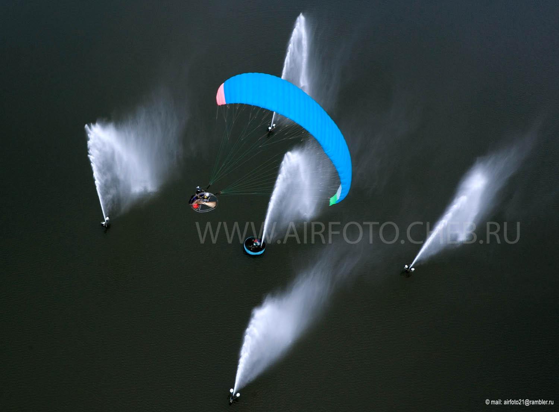Полёт над фонтанами