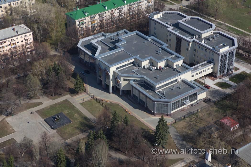 Национальная библиотека с высоты