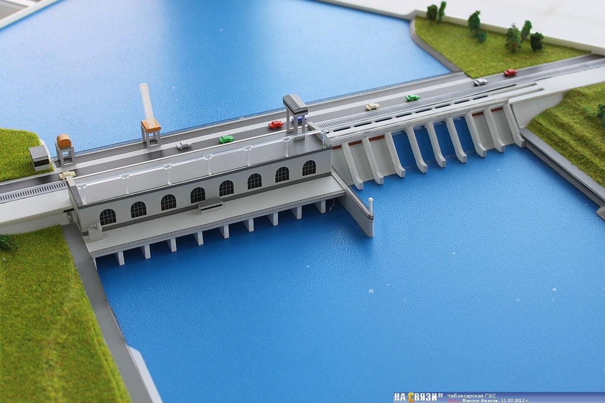 Чебоксарская гидроэлектростанция фото