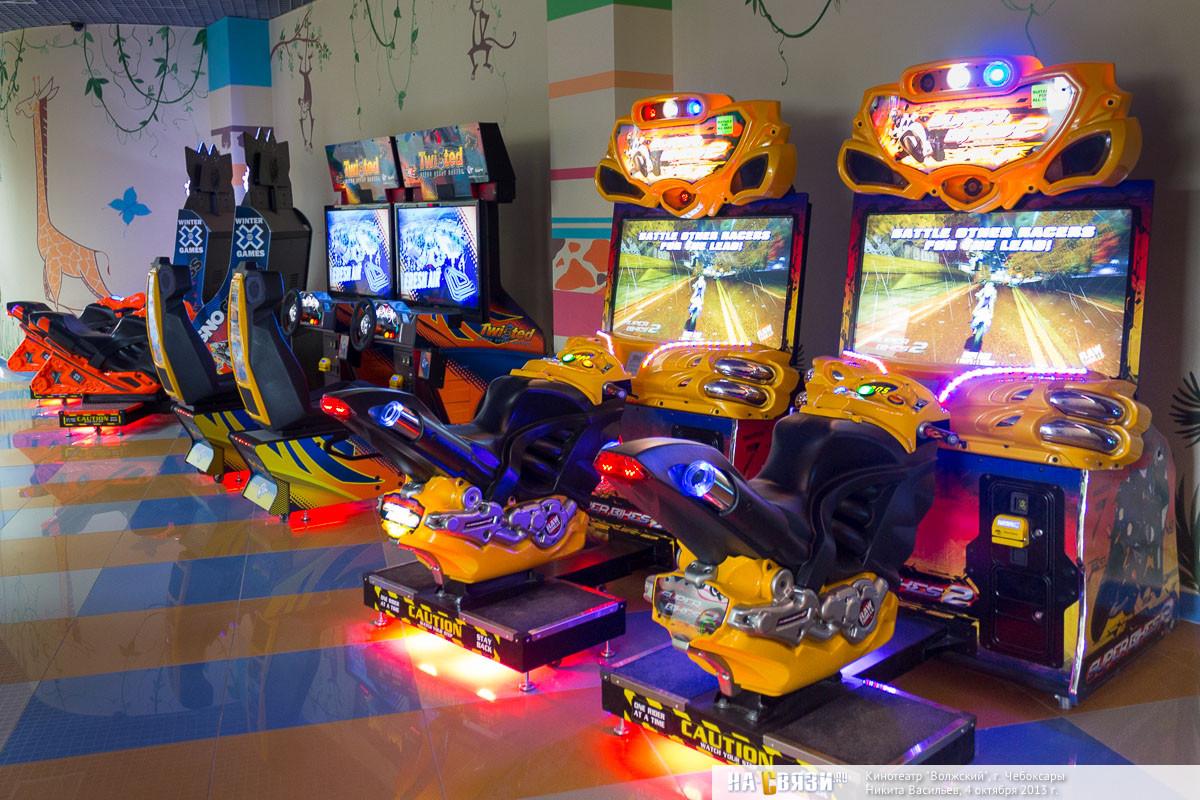 детские игровые автоматы в чебоксарах