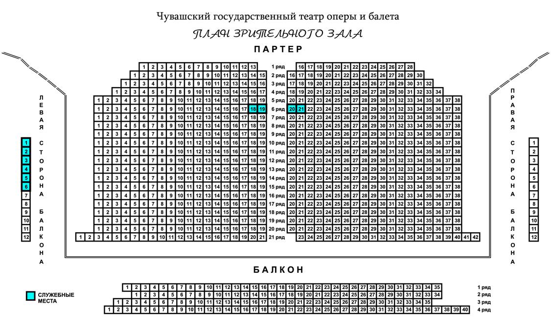 В наше время многие театры Чебоксар имеют большие творческие коллективы, но лишь в театре оперы и балета самый...
