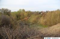Овраг между улицами Тютчева и Федина