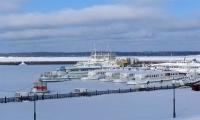 Корабли зимой