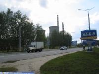Марпосадское шоссе, вывеска ЖБК-9