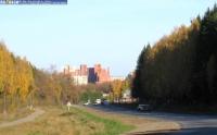Вид при въезде в город