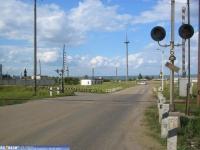 Железнодорожный переезд на Гремячевском проезде