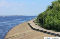 Бетонка на Казанской набережной