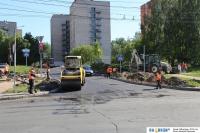 Ремонт улицы Тимофея Кривова