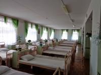 Спальное помещение в отряде с улучшенными условиями содержания