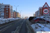 Ограничение скорости на улице Ильенко