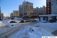 Зима на Приволжском бульваре