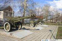 Пушки в парке ветеранов