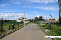 Шлагбаум на улице Покровская