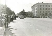 Площадь Ленина (Встреча А.Николаева и В.Терешковой)