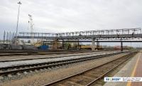 Строительство переходного моста