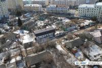 Частный сектор в центре города