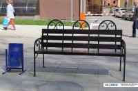 Скамейка на улице Гоголя