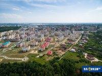 Вид на Волжский-3 с высоты