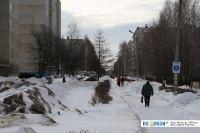 Юго-западный бульвар зимой